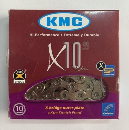 Цепь KMC X10 (хром)